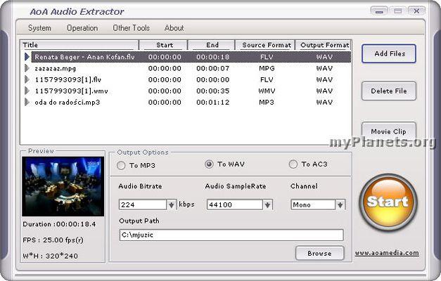 Aoa audio extractor скачать бесплатно - фото 10
