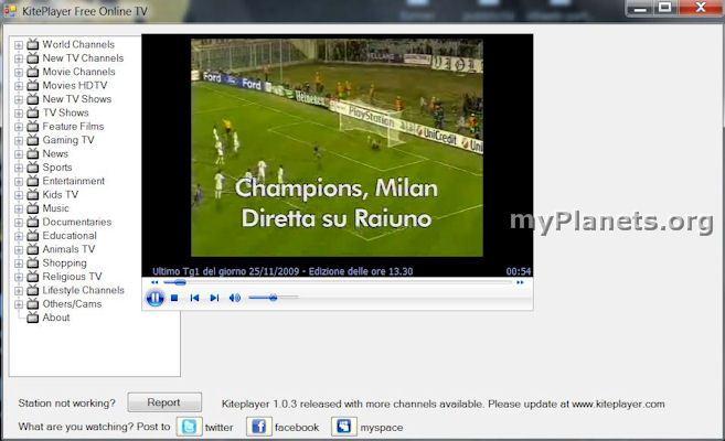kiteplayer free online tv