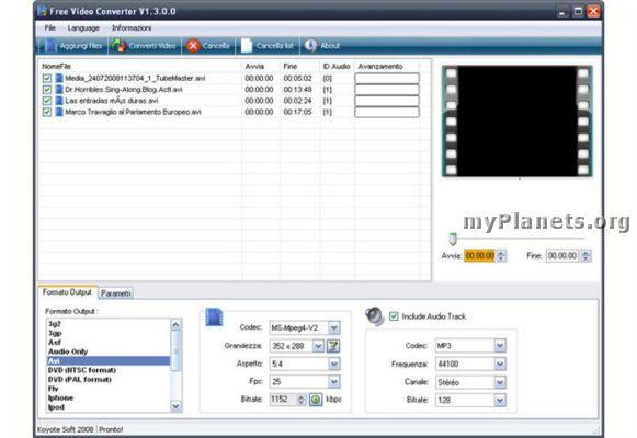 Flv converter converter converter koyote supports for creator ipod