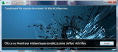 MSN Nick Generator