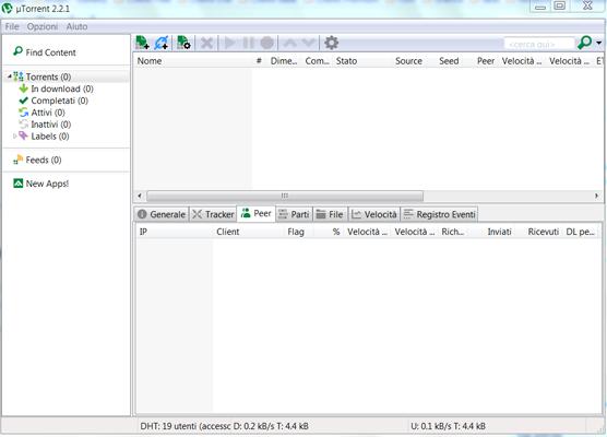 utorrent 2.2 1 download italiano gratis